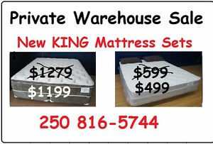 CRAZY DEALS ON KING SIZE MATTRESS SETS THIS WEEKEND