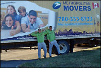 ***780-333-8733 REASONS TO CHOOSE METROPOLITAN MOVERS?***