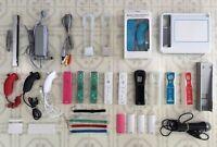 WII Accessories - Power Bar / Wireless Controllers / Sensor