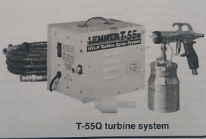 Sprayer, Lemmer T-55Q turbine system.