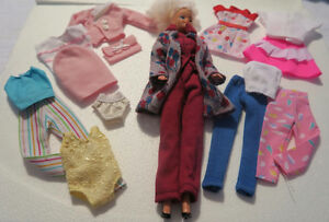 Barbie Dolls, Clothes and Accessories