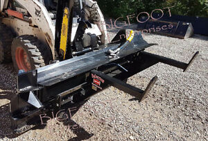 SKID STEER FIREWOOD WOOD PROCESSOR