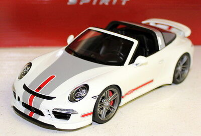 GT Spirit 1/18 Scale GT108 Porsche 911 991 Targa Techart Resin cast Model Car