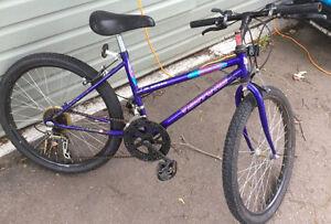 Girl's Mountain Bike! 1 Broken Gear!