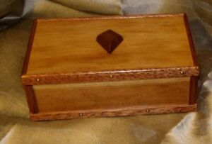 Rob's Woodcraft  --  Cherrywood Jewelery Box