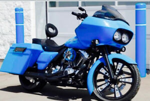 Fully customized Harley  road glide