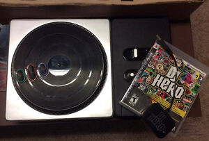Dj Hero Game With Turntables!