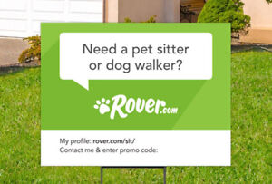 Rover Dog Walking and Services !