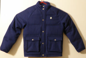 Billionaire Boys Club BBC Wool Oxford Jacket Sz Small Navy Blue