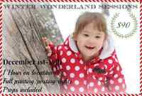 SB PHOTOGRAPHY BOOKING WINTER/CHRISTMAS SESSIONS $90