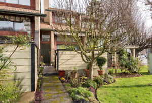 Lovely Fairfield townhouse steps from Beacon Hill Park.