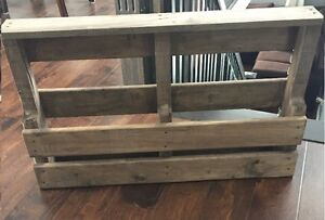 Rustic Wine/Bottle Rack, Washer Toss Game & Small Picnic Table
