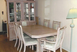 Dining room set oak