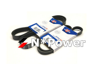OPTIBELT Supercharger DRIVE BELT KIT for Holden Monaro V2 L67 3.8L 01-03