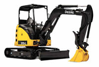 Riopelle Excavating- Excavator and Operator for Hire