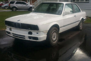 BMW e30 coupe TRACK ONLY front clip ready for tubing 318 325 V8!