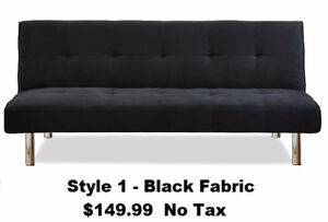 BLOW OUT SALE - Brand New In Box Futon Sofa Bed - 6 Styles -----