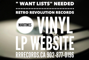 Retro Revolution Records *LPs, Dvds, Blu Ray WE NEED WANT LISTS!