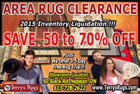 Area Rug Clearance - Ottawa !!!