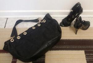 Guess high heels+Aldo bag