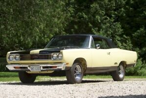 1969 Plymouth GTX Convertible - 1 of 700 - Restored