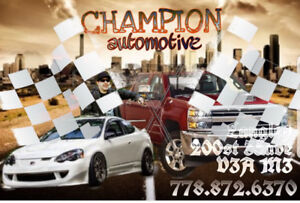 Fast and easy automotive service