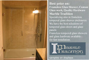 FrameLess Shower Glass Enclosures AND MORE... Stratford Kitchener Area image 3