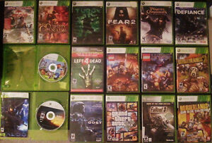 Used Xbox 360 Slim + Controller + 20 Games + TV London Ontario image 2