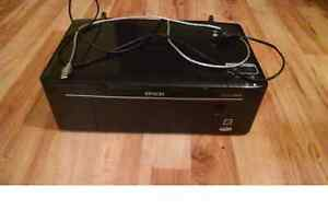 Epson Stylus NX130 Printer with Manual, Software, and Cables Eden Hill Bassendean Area Preview