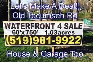 WATERFRONT LAKE ST CLAIR 572 Old Tecumseh Road