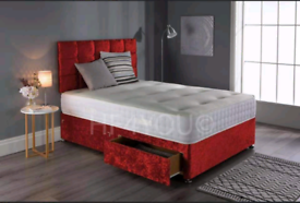 Divan beds with 10inch mattress available (Free Shipping)