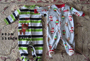 Baby girl clothes 0 to 3 months. Sleepers. London Ontario image 6