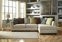 2pcs Ashley Sectional Set Lowest Prices Guarantee