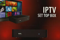 IPTV Box and Subscription ($12/month)