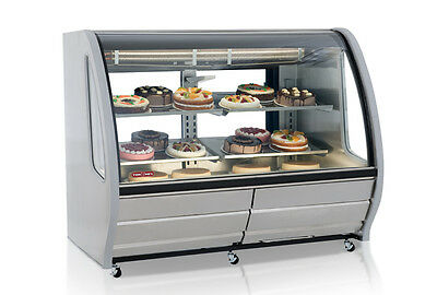 New 57 Refrigerated Display Case Torrey Tem150ai 4932 Deli Bakery Cold Nsf