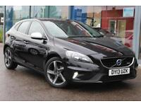 2013 VOLVO V40 D2 R DESIGN GBP0 TAX, LEATHER, DAB and 17andquot; ALLOYS