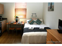 Holiday studio flats for 2people in Willesden Junction London #OM1