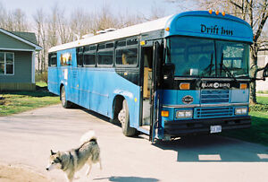 Blue Bird Event Bus Conversion