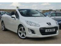 2011 PEUGEOT 308 1.6 PETROL THP CC ALLURE PEAR WHITE 2 OWNERS + JUST SERVICED