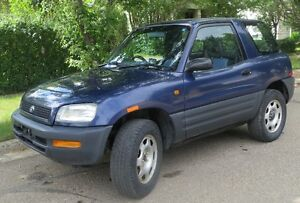 95 Rav4 - 2 Door - 4x4  Right H Drive - Low Km - JDM - REDUCED
