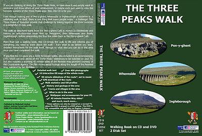 Three Peaks Walk DVD and CD Yorkshire Dales - 3 Peaks