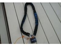 Oxford bike chain and padlock very good quality