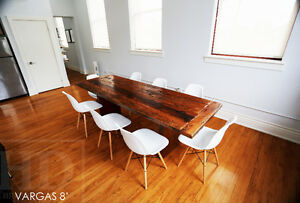 Reclaimed Wood Tables - Custom Built