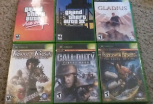 6 Original Xbox games all for $25!
