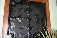 Tin Tiles, 2 Ft, Raised Pattern, Ornate, Flaking  Paint
