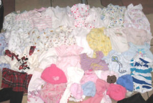 Lot of 0-3 month Baby Clothes in very good condition