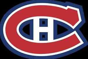 Paire de billet du Canadiens de montréal contre Ottawa 19 Mars