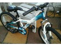 Sweet little bike sort ages 5ish to 7ish 20inch wheels 6gears very good condition