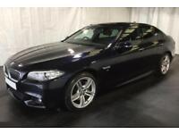 2016 BLACK BMW 535D 3.0 M SPORT DIESEL AUTO 4DR SALOON CAR FINANCE FR £100 PW