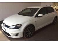 2016 WHITE VW GOLF 1.4 TSI GTE DSG HYBRID 5DR AUTO HATCH CAR FINANCE FR £67 PW